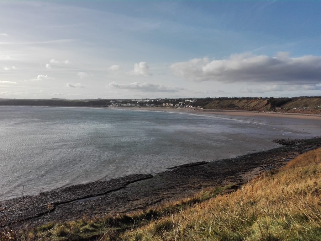 Filey from the Brigg