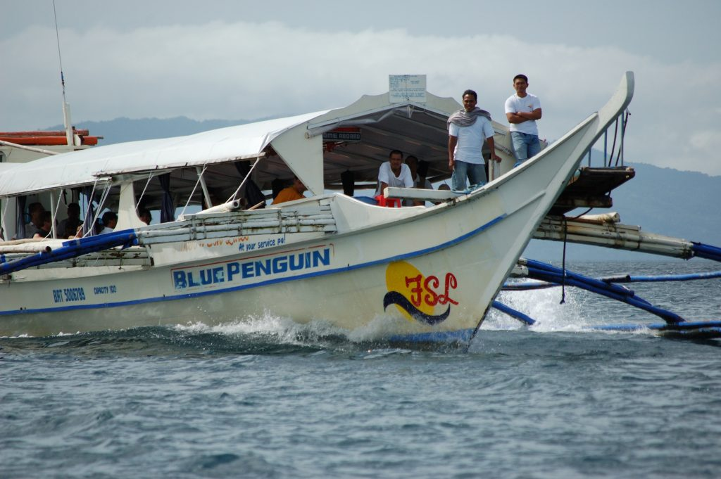 Boat from Mainland to Puerto Galera