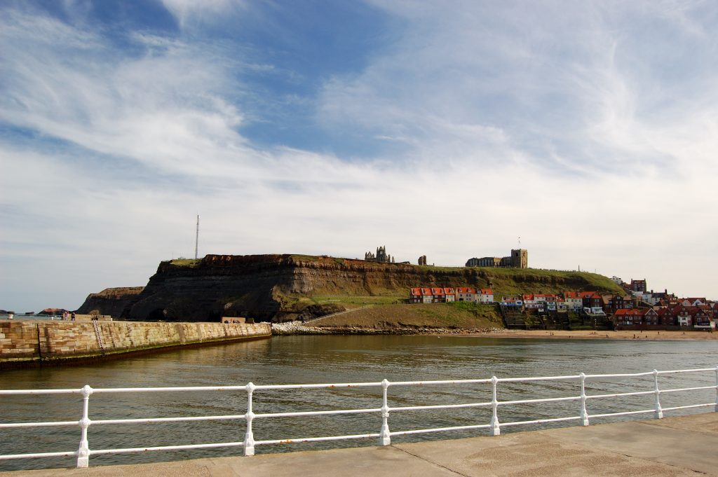 View from Whitby West Pier