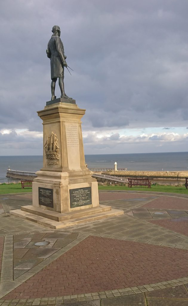 Captain Cook Statue, Whitby