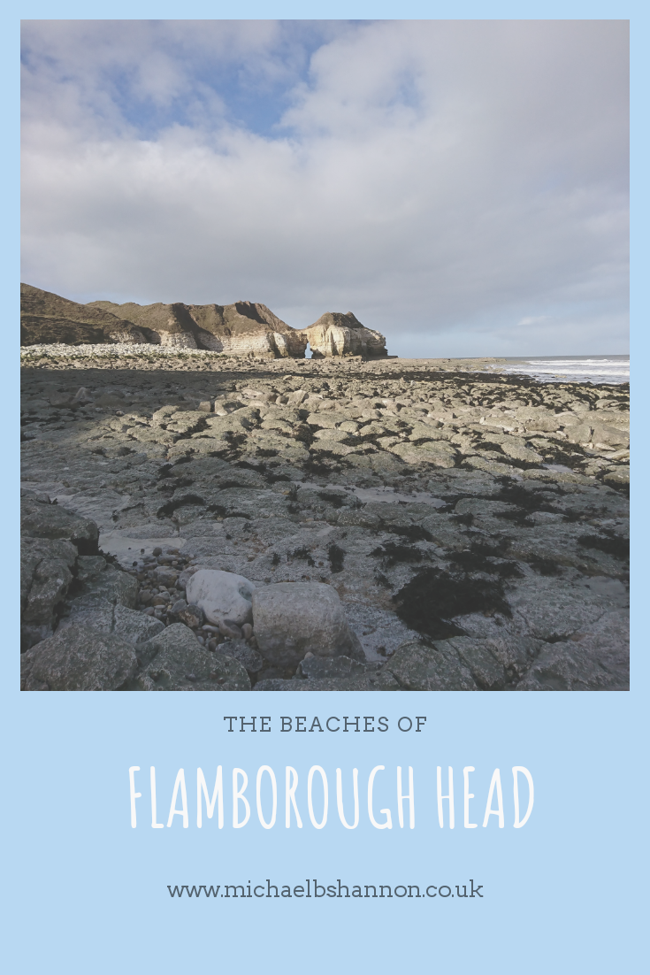 The beaches of Flamborough Head