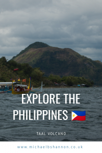Explore the Philippines - Taal Volcano.