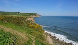 Walk from Scarborough to Ravenscar along the Cleveland Way.