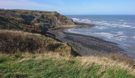 Walk from Runswick Bay to Staithes along the Cleveland Way.