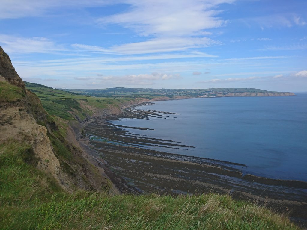 View from Ravenscar cliffs