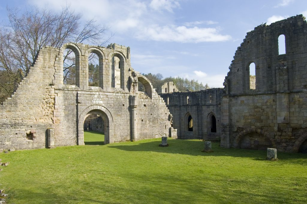 North Yorkshire - Fountains Abbey