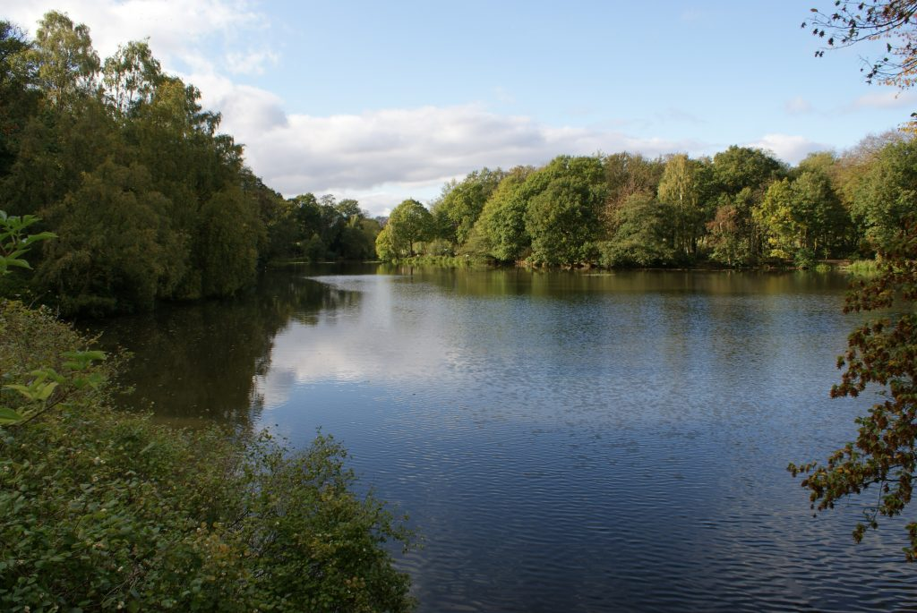 Nostell Priory Lake View