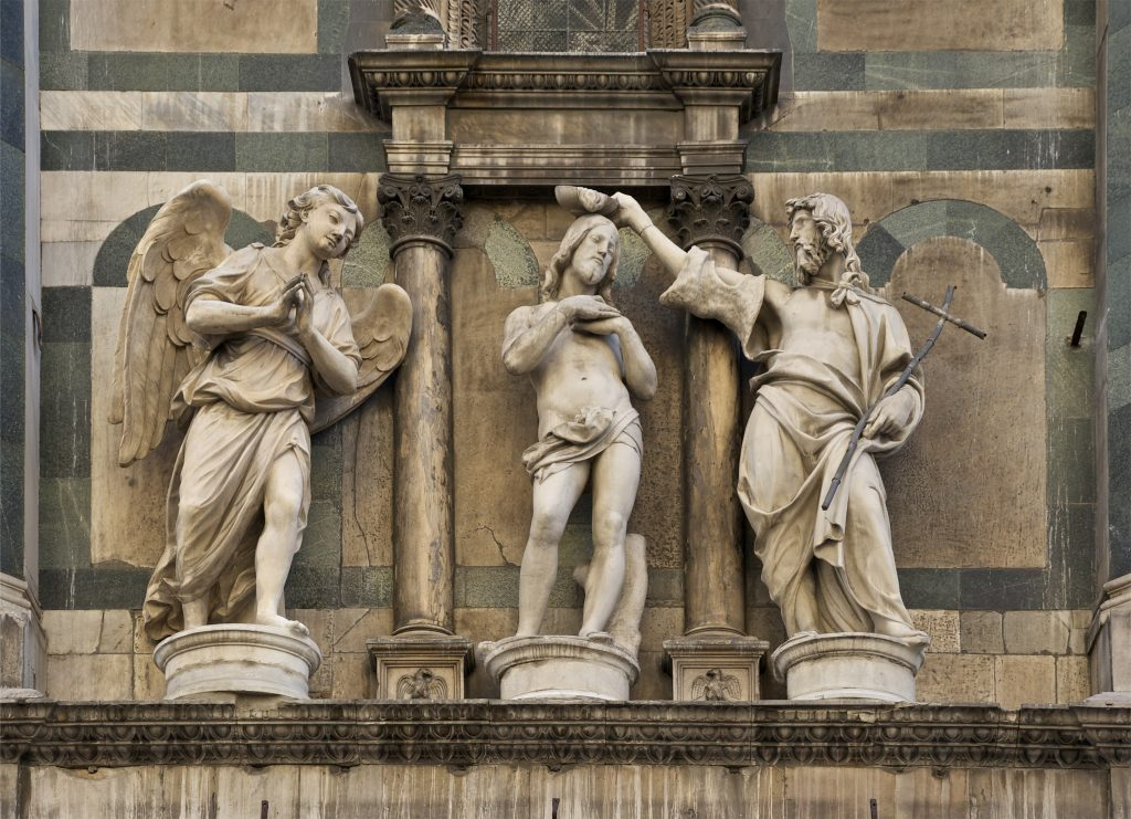 Florence Baptistery - Statue
