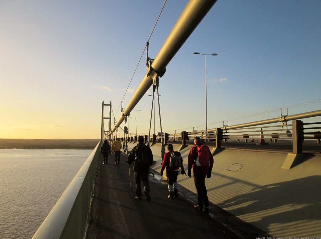 Humber Bridge Walkway