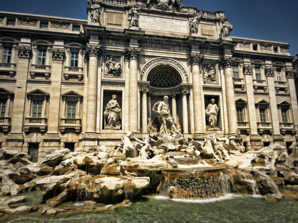 Rome, Trevi Fountain