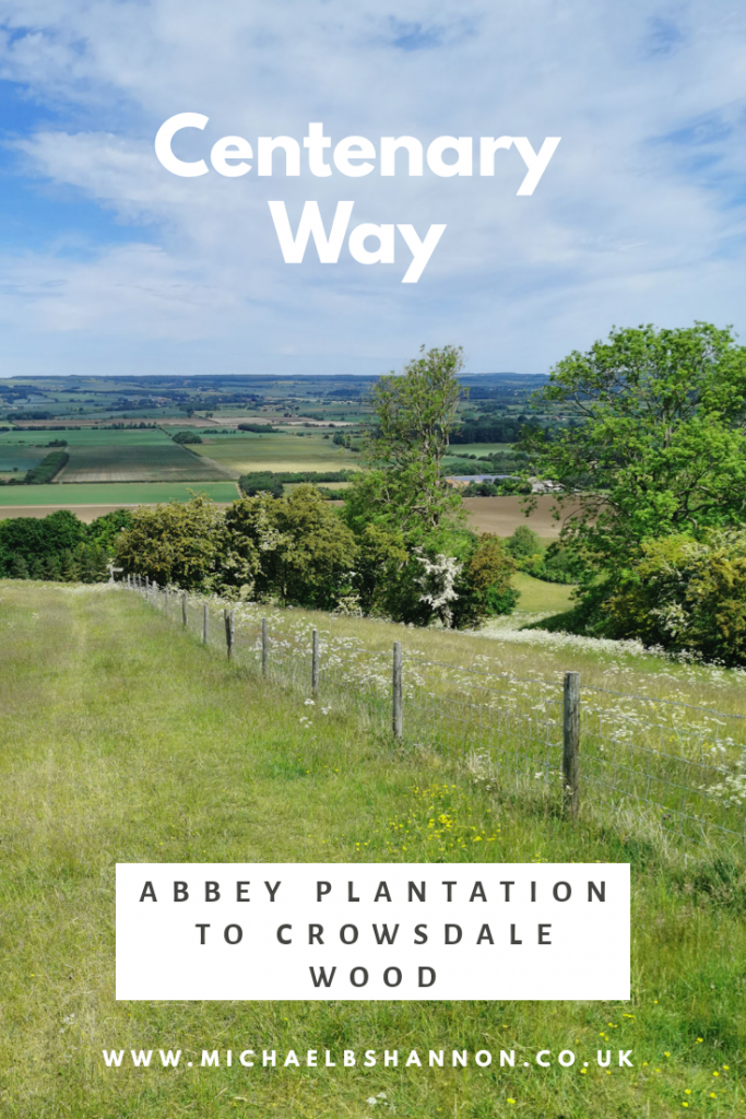Centenary Way - Abbey Plantation to Crowsdale Wood