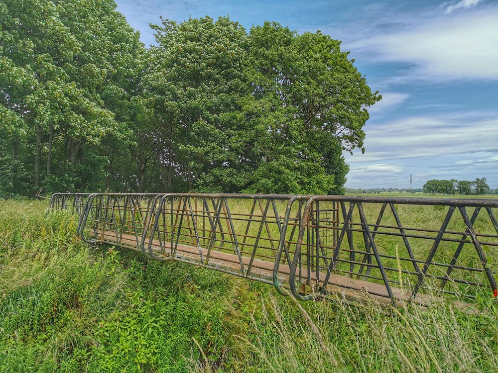 Old Metal Bridge - Strensall