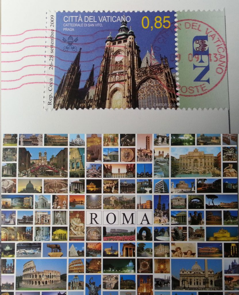 Post Card from the Vatican