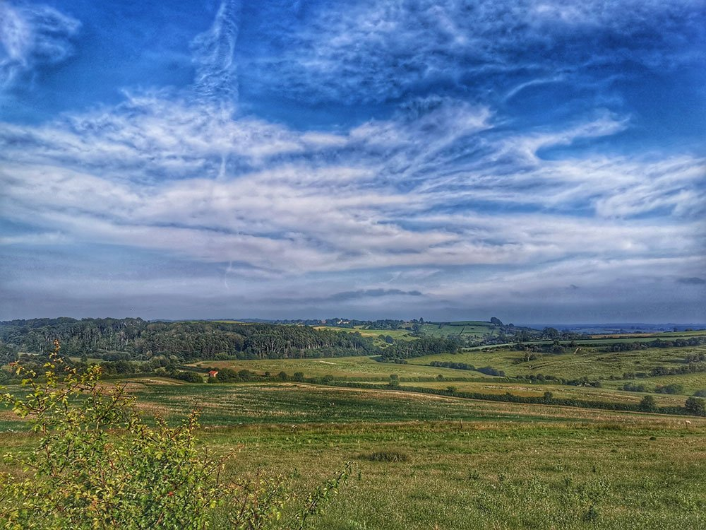 View from Mowthorpe Lane