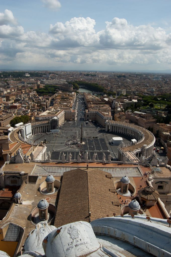 View from Cupola, St Peters