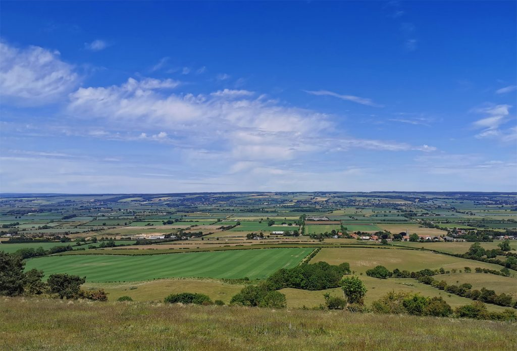 View from Seat, East Heslerton