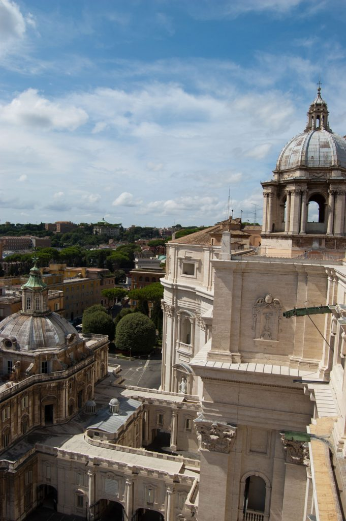 View from the roof of St Peters