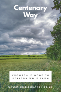 Centenary Way - Crowsdale Wood to Staxton Wold Farm