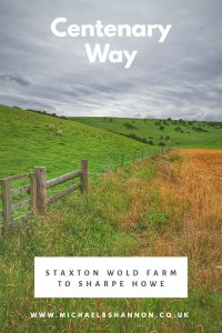 Centenary Way - Staxton Wold Farm to Sharpe Howe