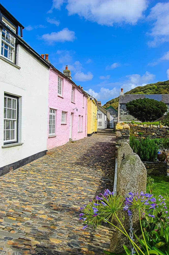 Cottages, Boscastle, Cornwall