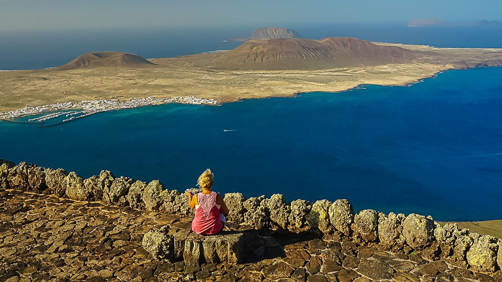 El Rio and La Graciosa, Lanzarote
