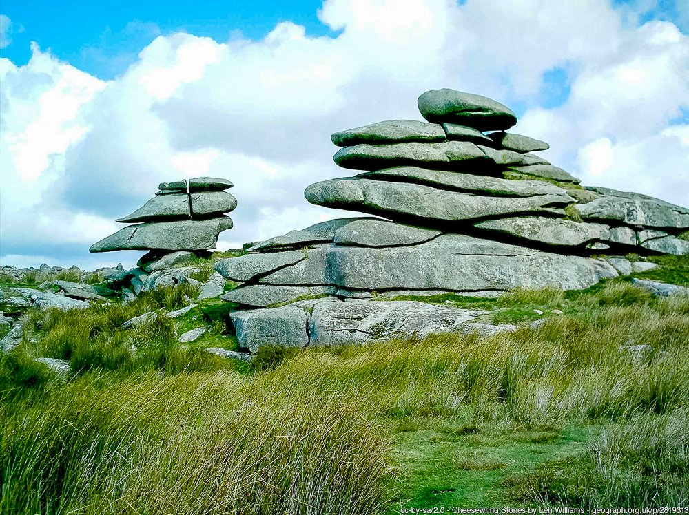 The Cheesewring, Bodmin Moor, Cornwall