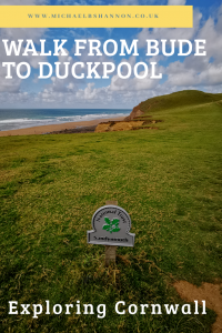Exploring Cornwall - Walk from Bude to Duckpool