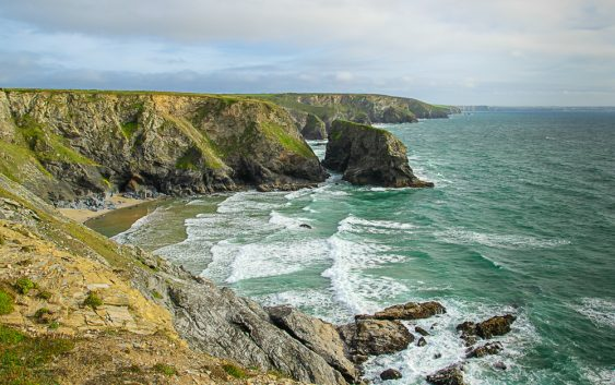 Pentire Steps Beach from Park Head