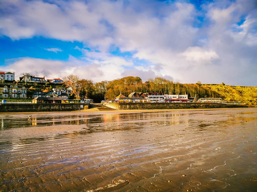 Filey from the Beach