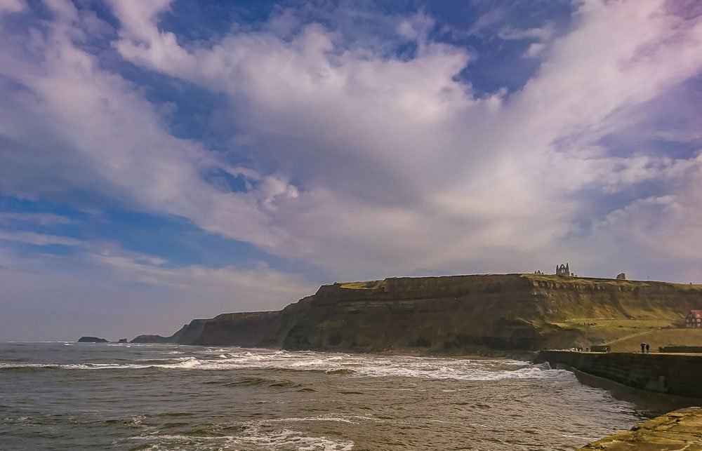 Saltwick Nab from Whitby