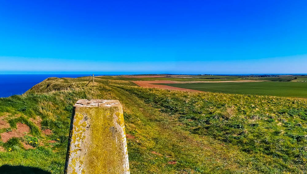 View south from Trig Point - Buckton Cliffs