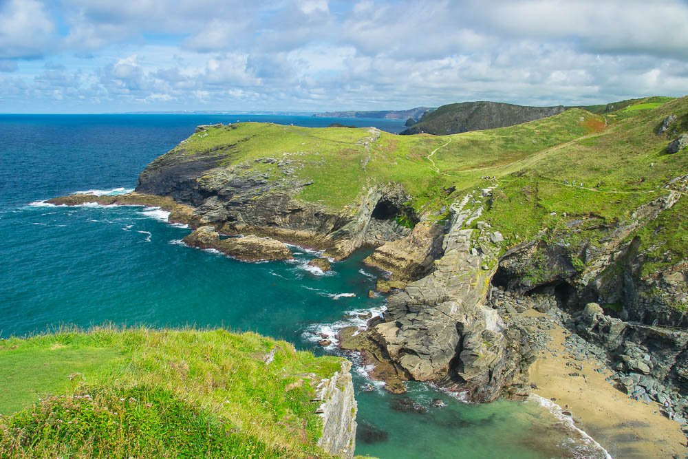 Tintagel Haven and Barras Nose