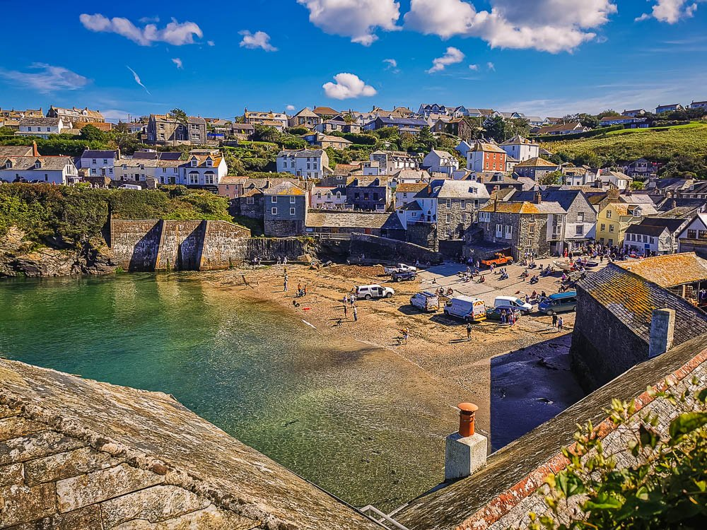 The Harbour area in Port Isaac