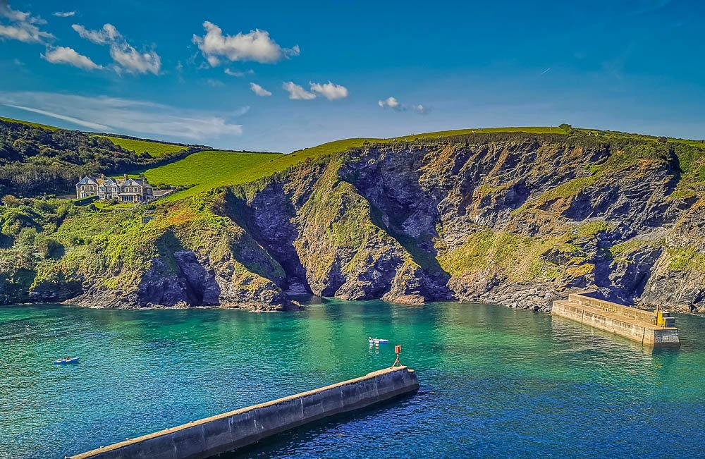 Harbour Piers, Port Isaac, Cornwall