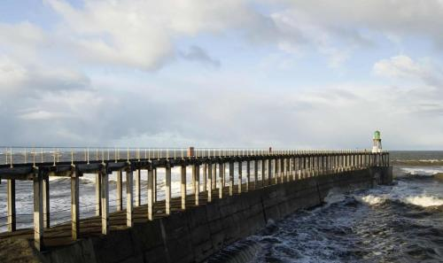 Whitby West Pier.
