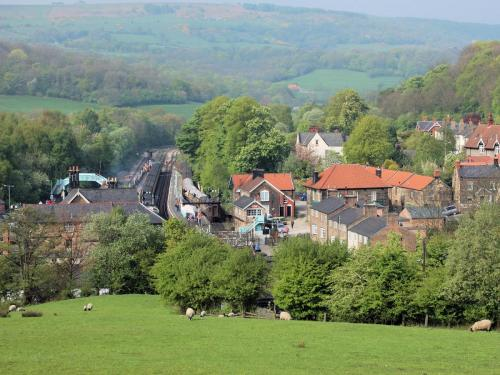 Grosmont Village.