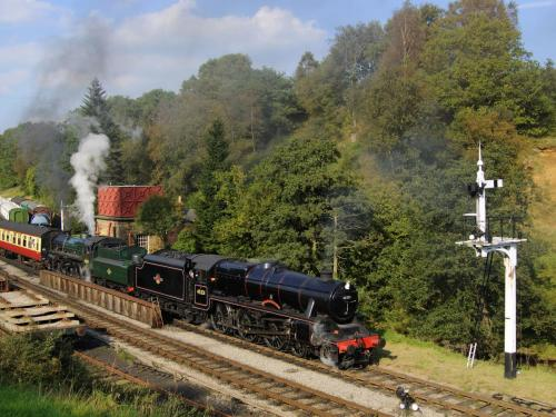 Double Header at Goathland