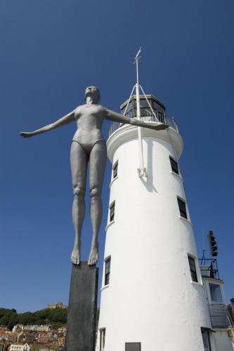 Diving Belle Statue - Scarborough