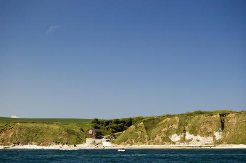 South Landing from the sea. Flamborough Head.