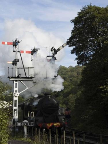 Leaving Grosmont