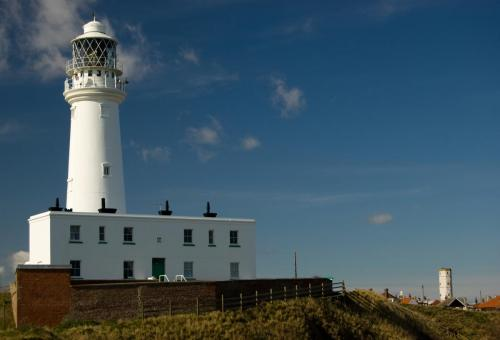Flamborough Head Lighthouse.