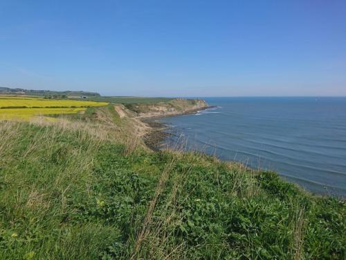 Looking north from Cromer Point