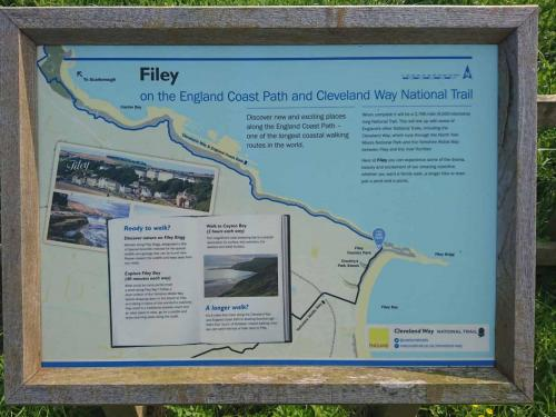 Cayton Bay Filey Map