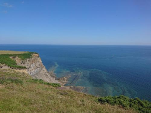Cliff top view from near Rain Dale