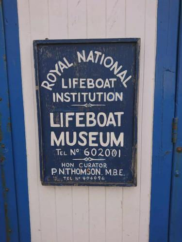 Whitby Lifeboat Museum.
