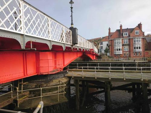 Whitby Swing Bridge.