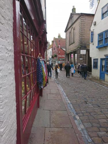 Whitby, Church Street and Market Square just off to right.
