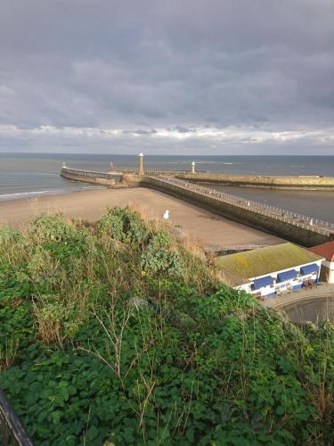 West and East Piers from Cliff Top.