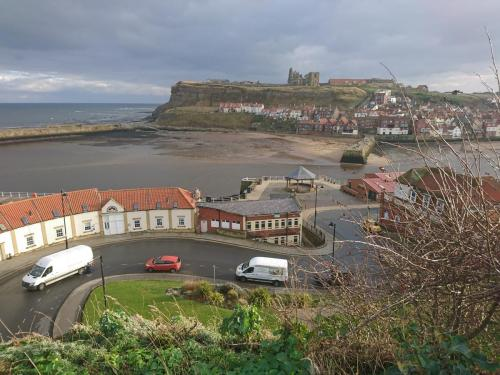 East Whitby seen from top of West Pier.