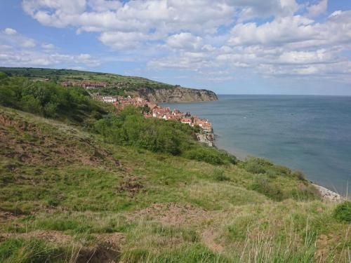 Almost at Robin Hood's Bay.